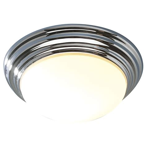 Large Flush Ceiling Lights Barclay Flush Ceiling Light Ip44 Large Chrome