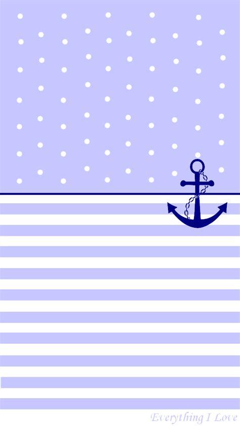 simple pastel anchor iphone wallpaper lock screen atpanpins