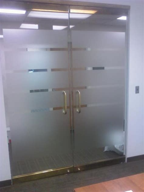 glass door decorative privacy window tinting md