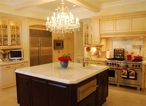kitchen island chandelier lighting glamorous plug in chandelier mode los angeles