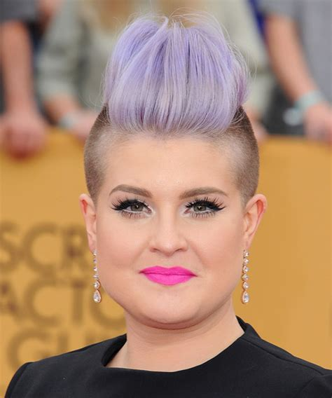 shaved sides haircut square face 30 lavender hair and purple hair styles