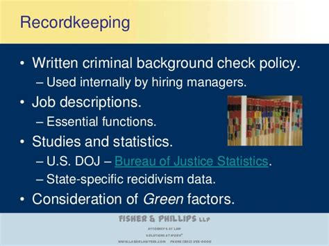 background check policy is your criminal background check policy consistent with