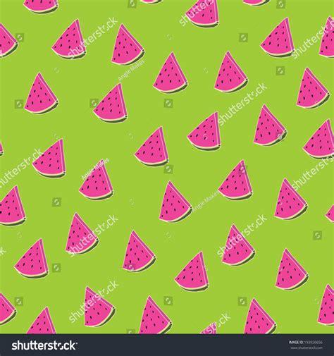 seamless pattern girly watermelon pattern girly fruit pattern summer vectores en