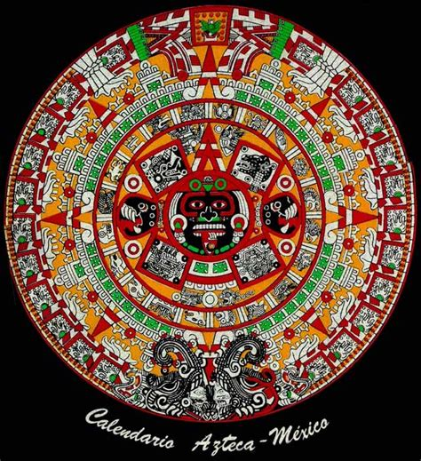 Calendario Y Azteca Es El Mismo Almanaques Y Calendarios Calendario Azteca