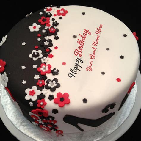 happy birthday cake new design birthday cake new design picture with name write name on