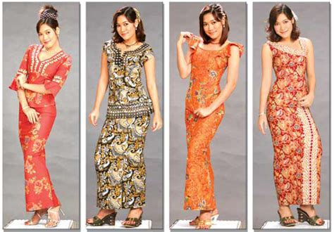 Gamis Batik Hana 06 batik fashion ii all things myanmar burmese