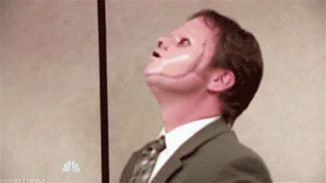 dwight schrute the office gif wifflegif