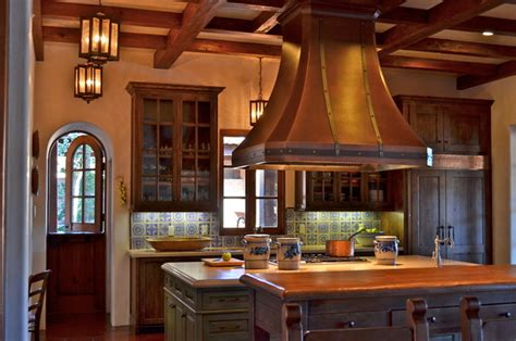 spanish home interior design spanish style home traditional kitchen san francisco