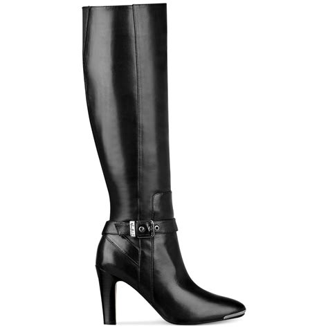 wide dress boots for marc fisher ibis wide calf dress boots in black