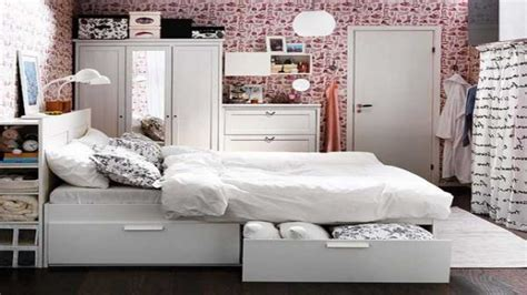 Bedroom Storage Ideas For Small Spaces Space Saving Designs For Small Bedroom