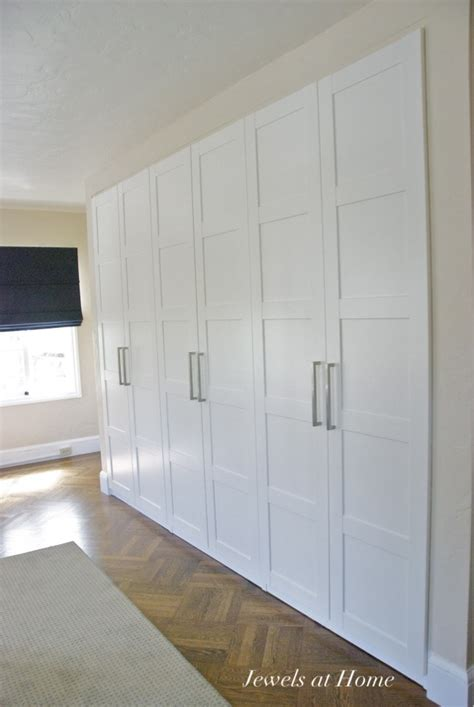 Pax Closet Doors Ikea Pax Wardrobes Used As Built In Closets Jewels At Home For My Home Sweet Home