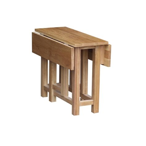 gateleg coffee table oak occasional gateleg side table