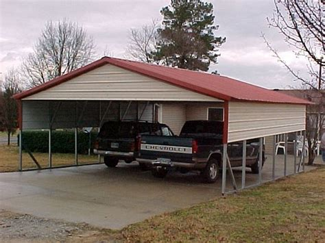 2 Car Car Port by 2 Car Carport Pricing Pictures To Pin On Pinsdaddy