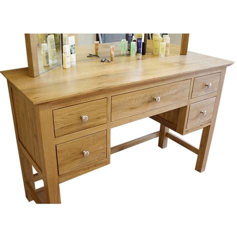 glenmore solid oak dressing table set click oak