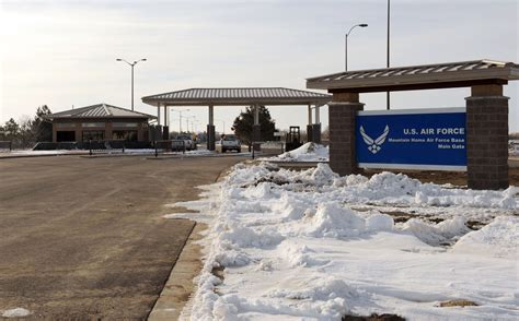 mountain home afb gate ready to open gt mountain home