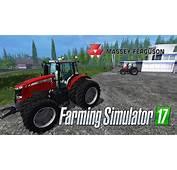 Farming Simulator 17  обзор Massey Ferguson YouTube
