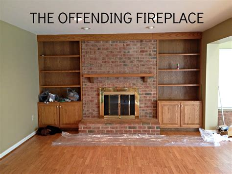 easy brick fireplace makeovers home design