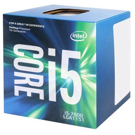 Intel I5 7600 3 5ghz Cache 6mb Box Socket Lga Berkualitas processador intel i5 lga1151 i5 7600 3 5 ghz 6mb cache cellshop