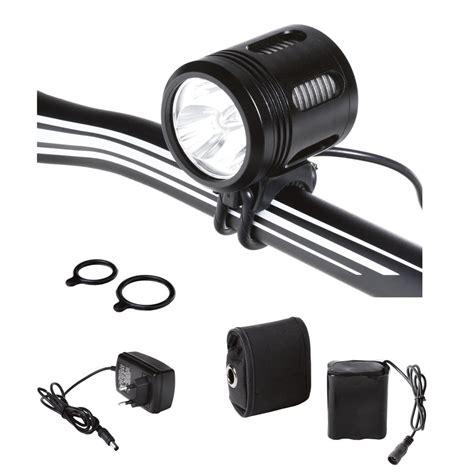 len 3000 lumen headlight helios 3000 lumen 3 cree leds black aluminium