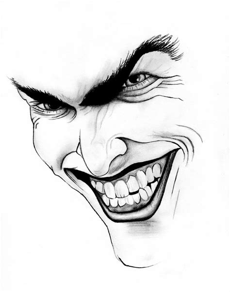 the joker drawing by peter landis