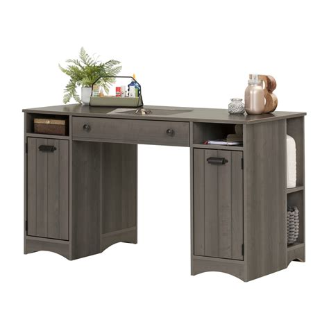 south shore artwork craft table with storage south shore artwork craft table with storage gray maple