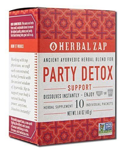 Herbal Zap Detox Review by Herbal Zap Herbal Zap Immune Support 10 Pkt