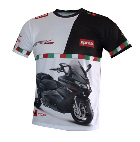 T Shirt Aprilia Hitam aprilia srv 850 t shirt with logo and all printed picture t shirts with all of auto