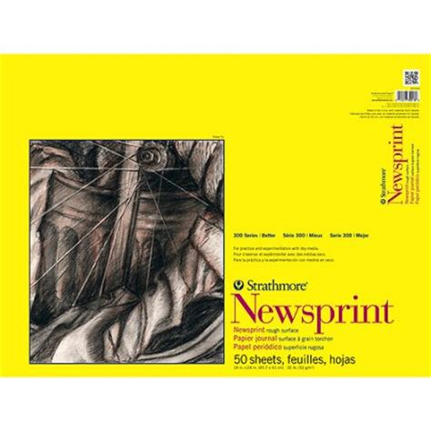 newsprint comforter strathmore rough newsprint paper pad 18 quot x 24 quot 32 lb 50