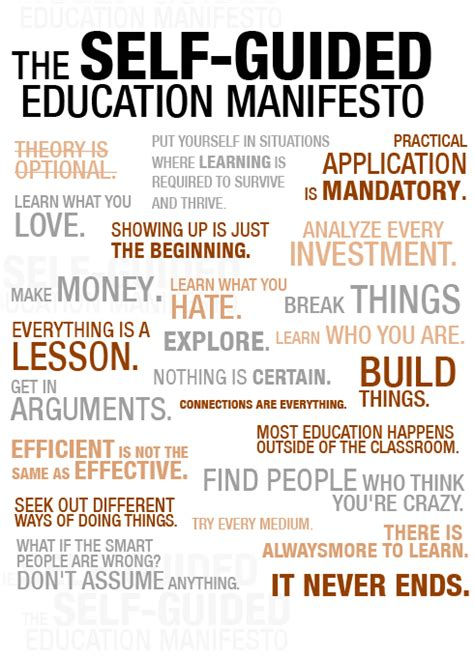 manifesto template the 27 principles to teaching yourself anything aka the