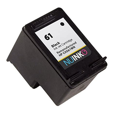 resetting hp envy 4502 nuinko 4 pack remanufactured hp 61 ink cartridge black and