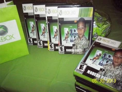 xbox 360 themed birthday party 17 best images about xbox party ideas on pinterest xbox