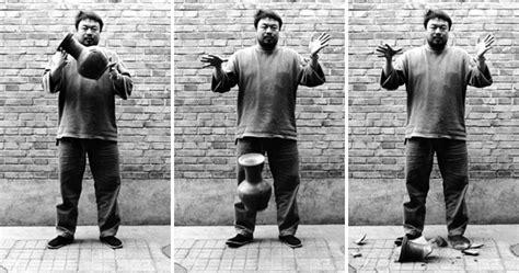 Ai Weiwei Dropping Vase ai wei wei 798district