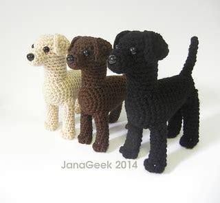 pattern lab deutsch ravelry labrador retriever puppy pattern by jana whitley