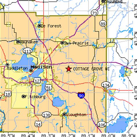 cottage grove wisconsin wi population data races