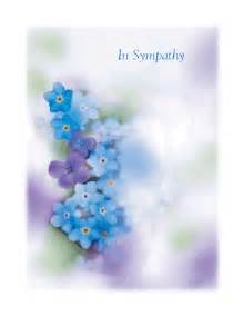 quot in sympathy quot printable card blue mountain ecards