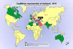 Where Is World The World At War Gallipoli Our Stories