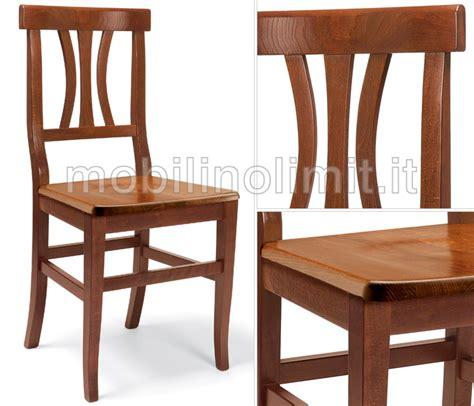 sedie vicenza sedia vicenza con seduta in legno