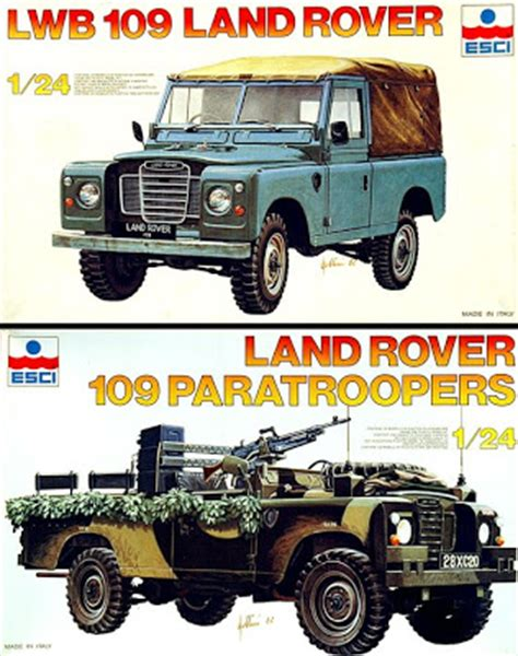 land rover italeri scale model news the best 4x4xfar a land rover from italeri