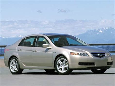 2004 acura tl kelley blue book