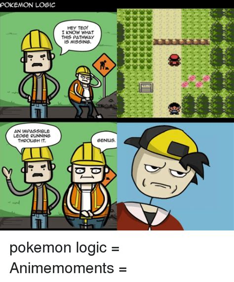 Pokemon Logic Meme - logic pokemon funny comic images pokemon images