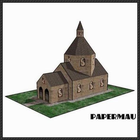 Paper Craft Square - papercraftsquare new paper craft miniature church