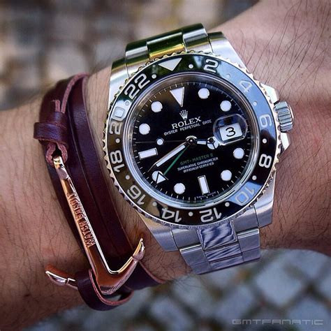 Gelang Speedometer Rolex Gmt Bracelet perlon straps and rolex watches watchbandit
