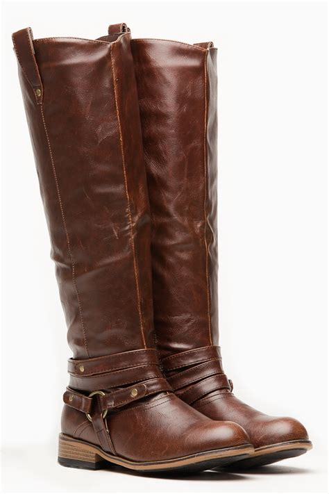 Bamboo Brown Leather Boots bamboo brown parksville rider boot