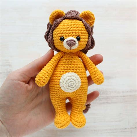 amigurumi lion cuddle me amigurumi pattern amigurumi today