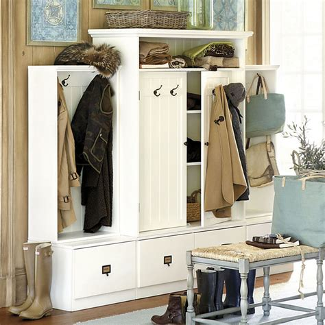 Entry Cabinet | beadboard entryway cabinet with doors traditional hall