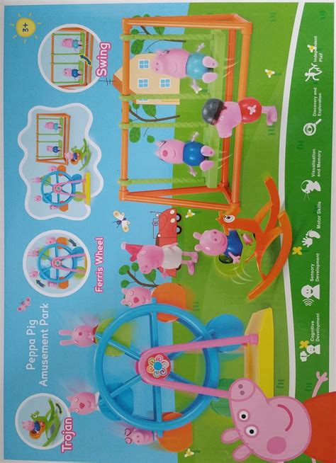 Mainan Anak Parking Lot Peppa Pig Track Racing buy gift beautiful villa and table set with deals for only s 15 9 instead of s