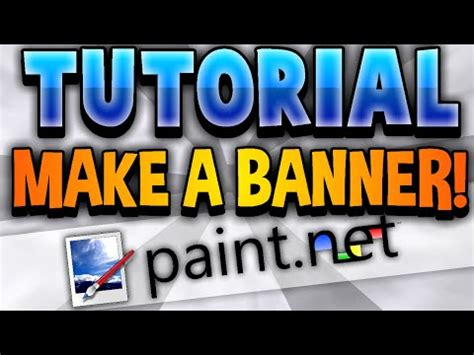 How To Make An Amazing Youtube Channel Banner Free Paint Net Cp Fun Music Videos Justintheoreo Banner Template