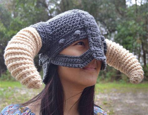 crochet pattern viking helmet crochet skyrim viking helmet viking helmet skyrim and