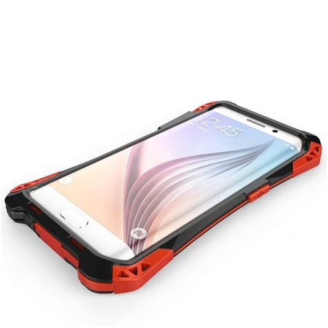 Shockproof Heavy Duty Rugged Carbon Fiber For Oppo r just amira aluminum metal frame shockproof tpu carbon