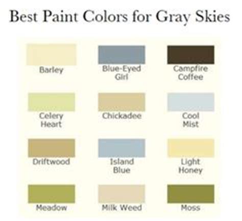 pacific northwest paint palette design